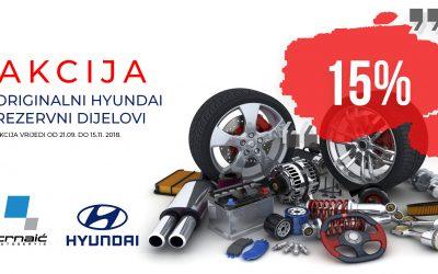 AKCIJA – original Hyundai zamjenski dijelovi