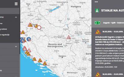 HAK predstavio novi sustav prikaza stanja na cestama