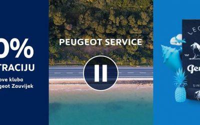Peugeot Akcija – 40% popusta na filtraciju!