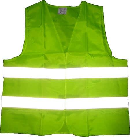 Reflektirajući prsluk zelene boje