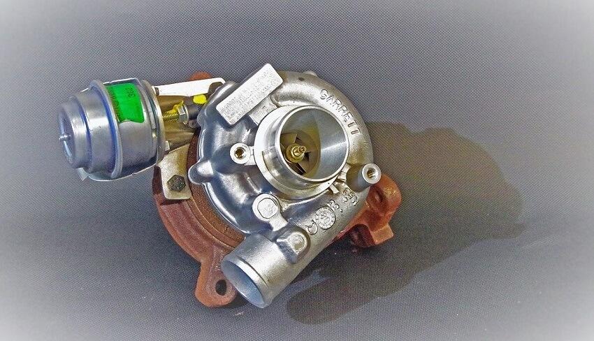 Ilustracija turbine automobila