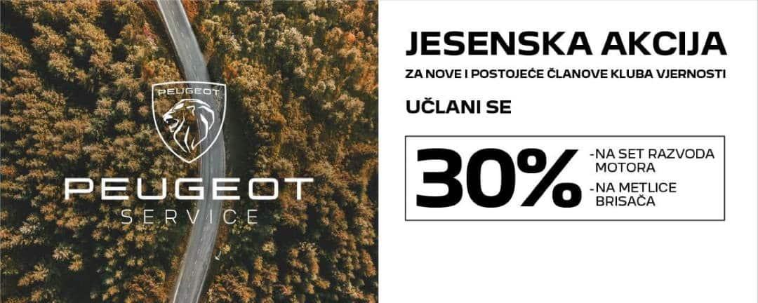 Jesenska akcija Peugeot Klub Vjernosti