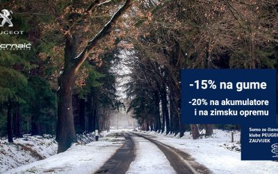 Peugeot zimska servisna akcija