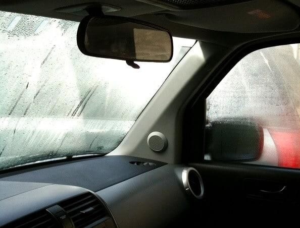 Zamagljena stakla unutar automobila